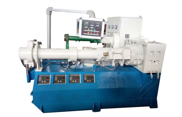Cold feed extruder